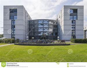 Modern Building In Cern Stock Image  Image Of Buildings