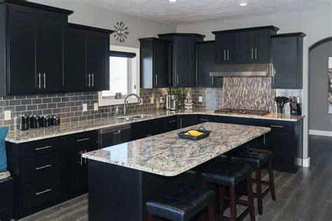 Beautiful Black Kitchen Cabinets — Stylid Homes : Create