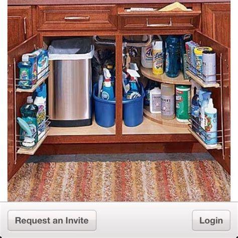 kitchen storage and organization como organizar debajo lavaplatos cocina 6140