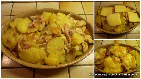 gratin de pommes de terre au fromage 192 raclette les bons