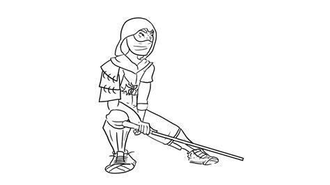 Fortnight Free Colouring Pages