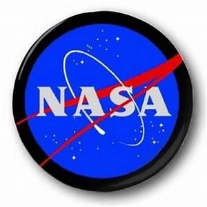 NASA LOGO - 1 inch / 25mm Button Badge - Space Apollo Moon ...