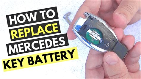 How To Change A Mercedes Key Battery (with Pictures)