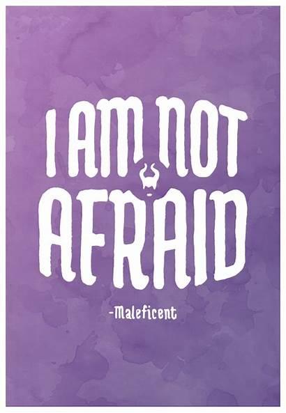 Maleficent Quotes Disney Quote Villains Posters Afraid