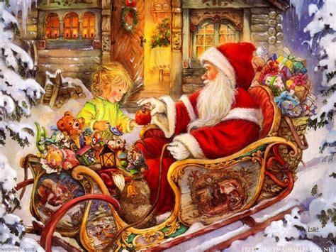 beautiful christmas paintings   inspiration