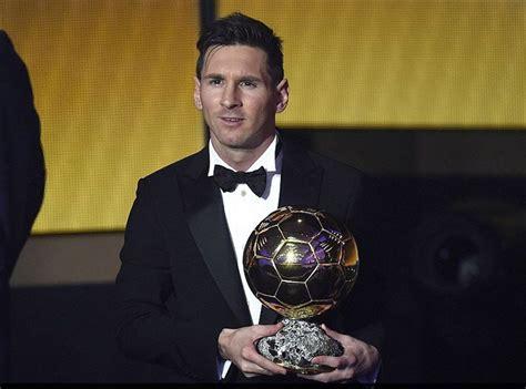 FIFA Ballon d'Or 2015 : grand vainqueur, Lionel Messi bat ...