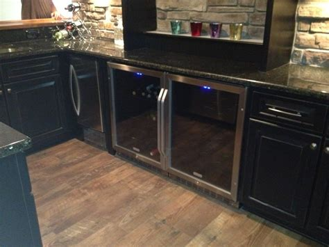 Home Bar Solutions by Novi Finished Basement Traditional Home Bar Detroit