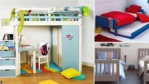 Chambre D Enfant Ikea : chambre d 39 enfant lit malin pour enfants coquins c t maison ~ Teatrodelosmanantiales.com Idées de Décoration