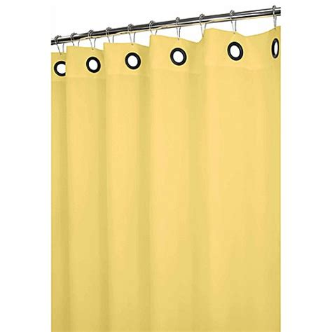 grommet shower curtain park b smith 174 dorset yellow large grommet 72 inch x 72