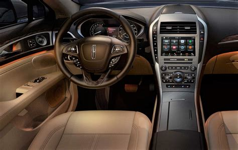 2018 Lincoln Mkz Interior  News Cars Report Pinterest