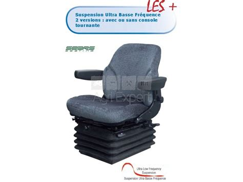 siege pneumatique sears as3045 tissu avec console tournante suspension