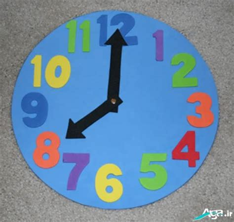 9 clock crafts images and ideas for kids and preschoolers styles at life