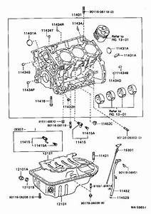 Toyota Camry Plate  Oil Hole Cover  Engine