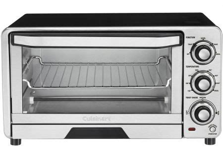 Cuisinart Custom Classic Toaster Oven by Cuisinart Stainless Steel Toaster Oven Broiler Tob 40n