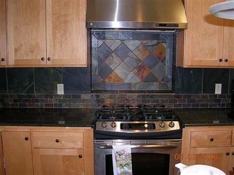 slate kitchen backsplash slate backsplash kitchen backsplash