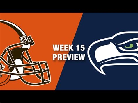 browns  seahawks preview week  nfl youtube
