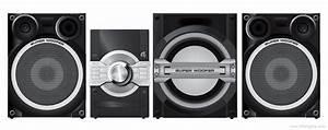 Panasonic Sc-akx75 - Manual - Cd Stereo System