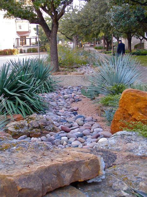 xeriscape texas style dry gardening  arid climates