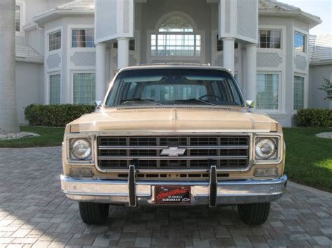 1977 Chevrolet C10 Suburban 40k Actual Miles One Owner 454