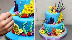 Finding Nemo Cake - How To Make by CakesStepbyStep - YouTube