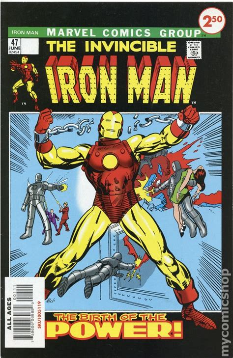Iron Man (1968 1st Series) Marvel Custom Comics comic books