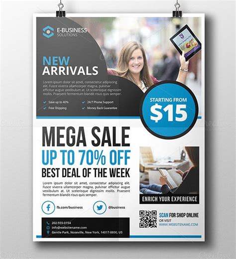 product flyer templates psd designs word ai