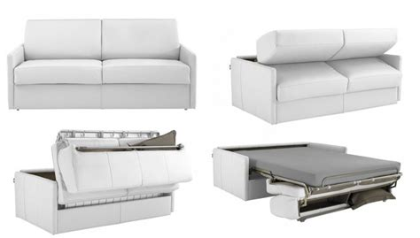 canapé convertible rapido cuir royal sofa idée de