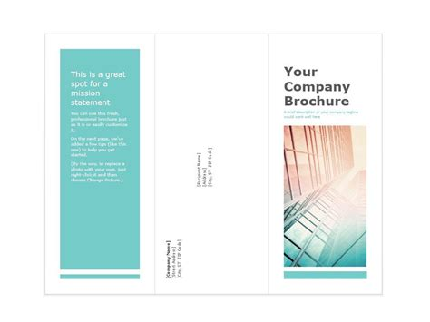 Pages Template Brochure 31 Free Brochure Templates Ms Word And Pdf Free