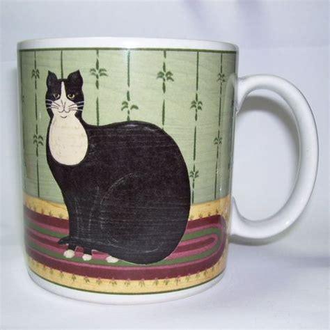 images  warren kimble  pinterest cat mug