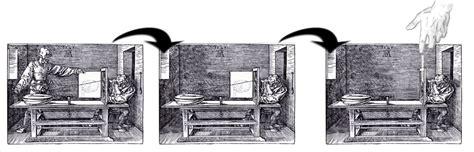 si e dessinateur si le dessinateur de luth de dürer avait eu du papier