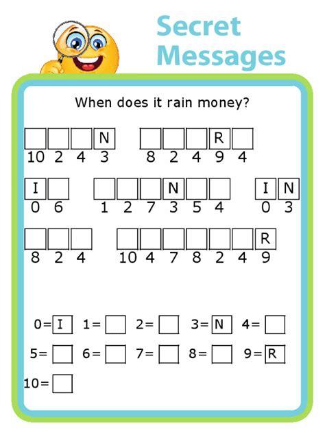 customizable secret message puzzles  trip clip