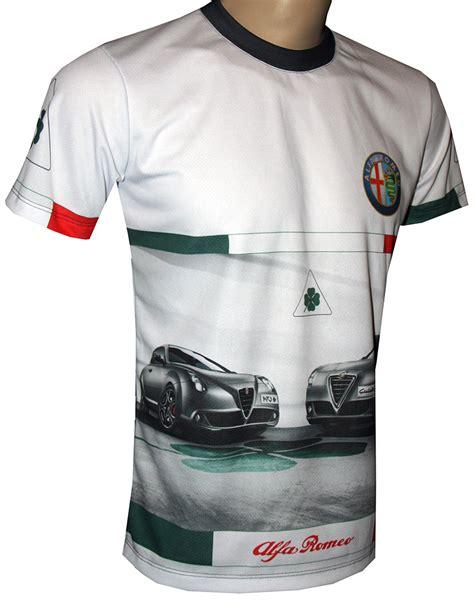 tshirt kaos baju kyosho racing alfa romeo logos alfa romeo t