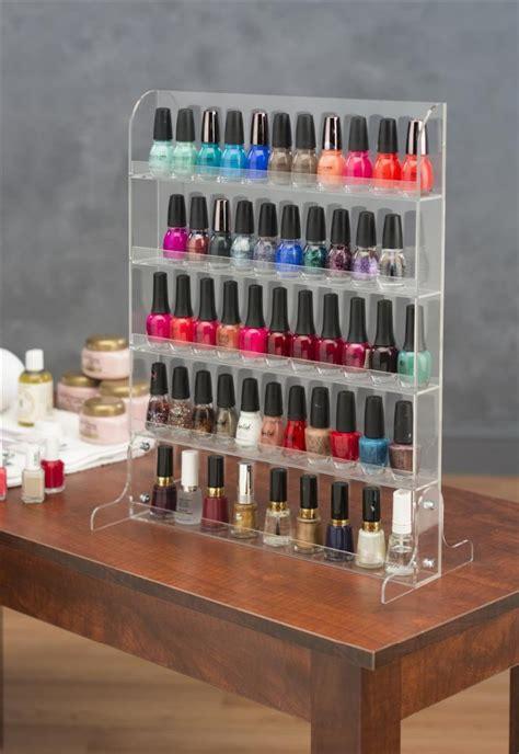nail display rack noble acrylic nail display shelf buy acrylic nail