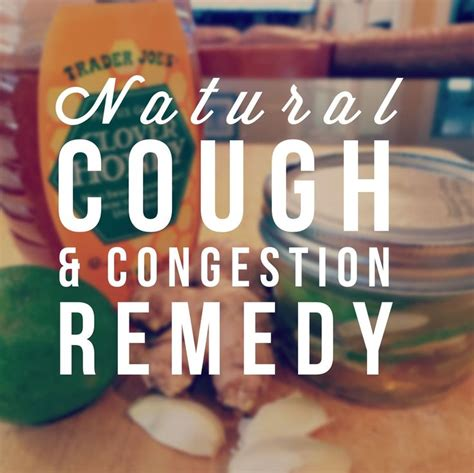 If your symptoms stick around for weeks or even months. Natural Cough and Congestion Remedy - My Mommy Flies | Congestion remedies, Remedies, Fitness ...