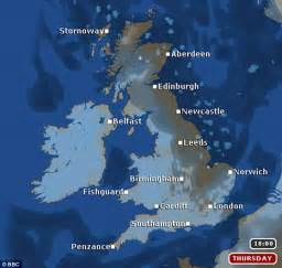 England Weather Forecast Map