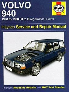 Volvo 940 Petrol Service And Repair Manual  1990 To 1998
