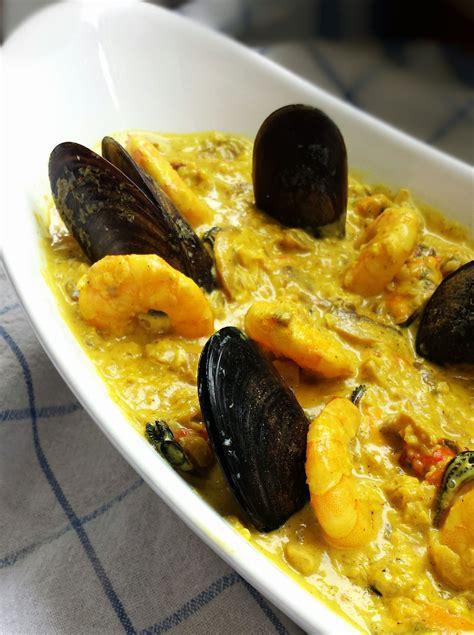 cuisine moules curry de moules et crevettes blogs de cuisine