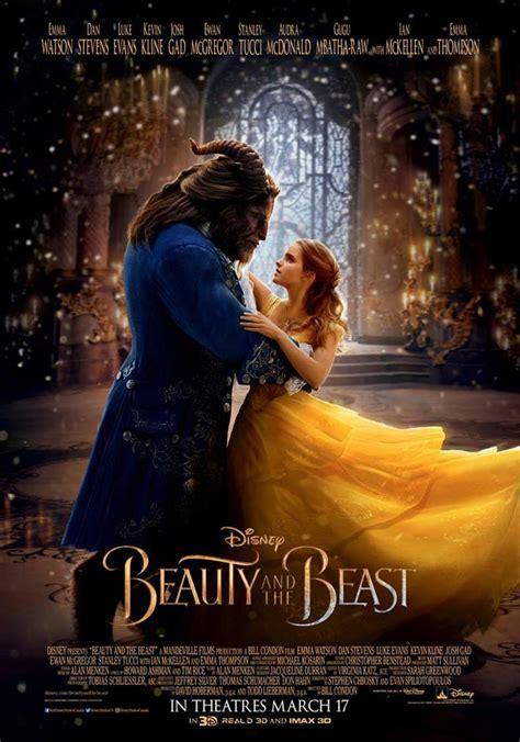 beauty   beast  poster  trailer addict