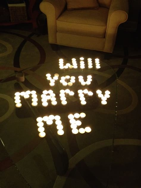 My Life Unscripted.: The Proposal