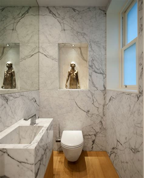 bathroom tile remodeling ideas guest toilet ideas powder room contemporary with statue