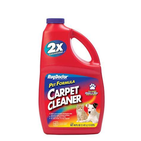 Carpet Cleaners Carpet Cleansing Essentials Rug 48 Oz Pet Formula Carpet Cleaner 4066 The