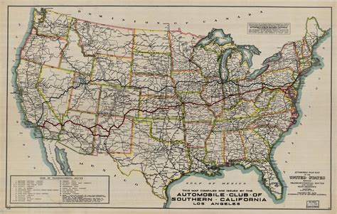 The Lincoln Highway In Strip Maps