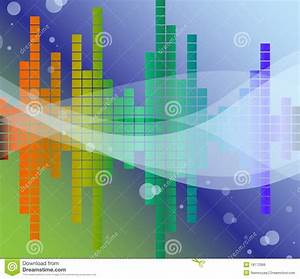 Sound Diagram Royalty Free Stock Images