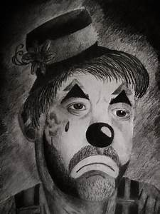 Sad Clown by JasmineC on DeviantArt