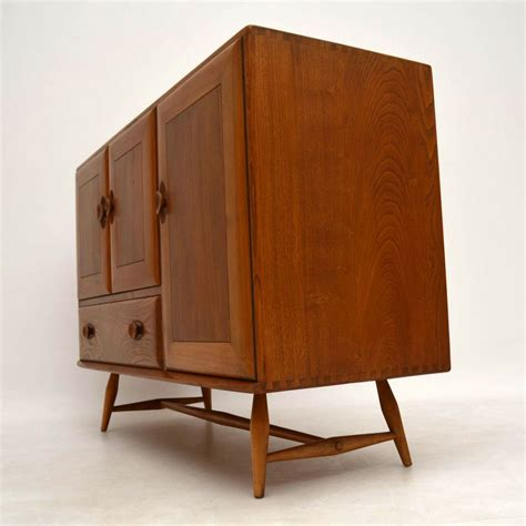 Ercol Sideboard by 1960 S Vintage Ercol Sideboard In Solid Elm