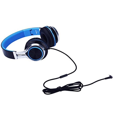 headphones with microphone for iphone headphones fosto ft58 stereo folding headset strong low