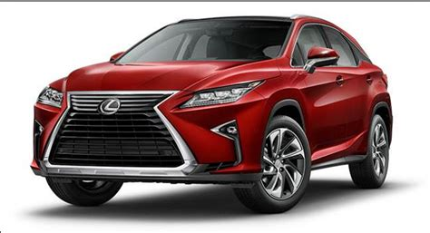 red lexus 2018 2018 lexus rx 350 review release date 2018 2019 new suv