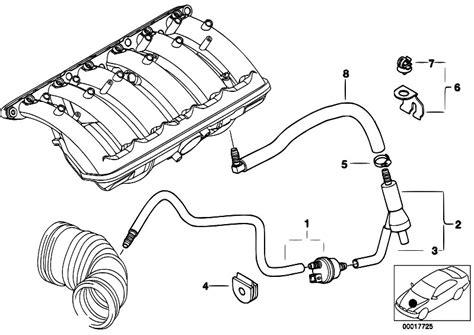 Bmw M52 Engine Diagram by Original Parts For E46 320i M52 Sedan Engine Vacuum
