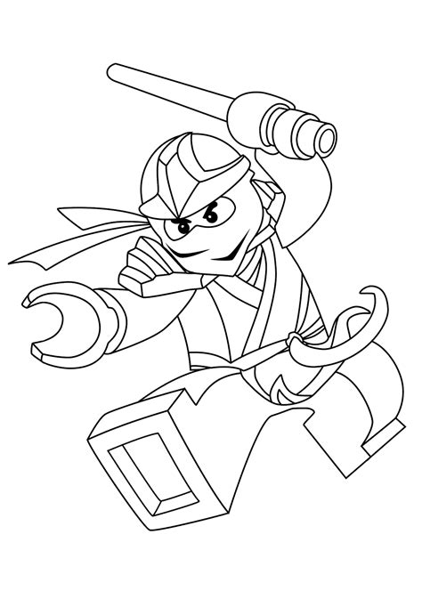 zane ninjago coloring pages  kids printable