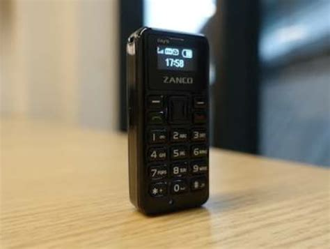 zanco tiny t1 the world s smallest mobile phone launched